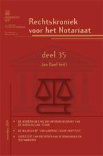 Rechtskroniek voor het Notariaat 35